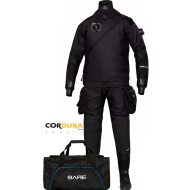 Skafander BARE HDC Expedition HD2 Tech - szelki, 2 x kieszeń Tech - 011135_hdc_tech_dry_cave_edition_blk_cordura_0-2.png